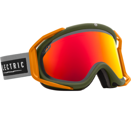 Ochelari Ski ELECTRIC Rig Chopper Bronze/Red Chrome