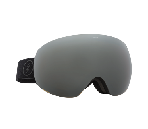 Ochelari schi si snowboard Electric EG3 Matte Black Brose/ Silver Chrome + Light Green
