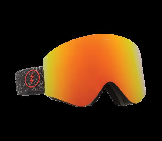 Ochelari schi si snowboard Electric EGX Elephant Brose/ Red Chrome + Light Green
