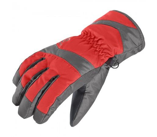 Manusi Salomon Electre Glove Jr Gri/ Rosii