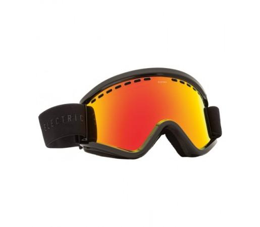 Ochelari de schi si snowboard Electric EGV Gloss Black Bronze/ Red Chrome + Light Green