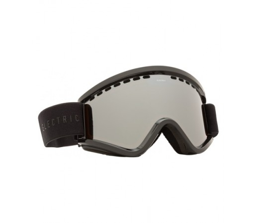 Ochelari de schi si snowboard Electric EGV Gloss Black Bronze/ Silver Chrome + Light Green