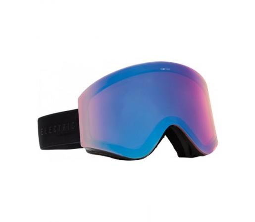 Ochelari de schi snowboard Electric EGX Gloss Black Yellow/ Blue Chrome + Light Green
