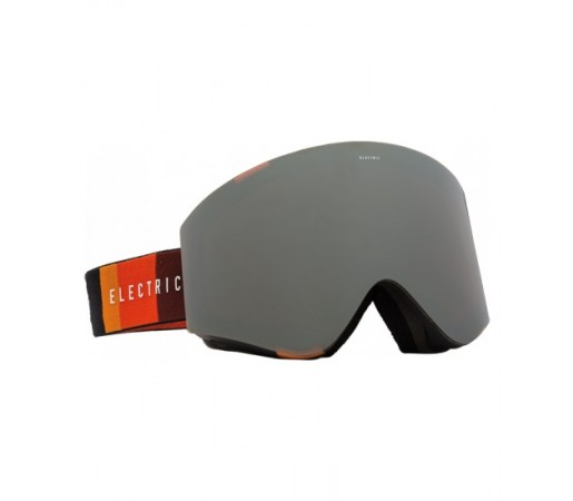Ochelari de schi snowboard Electric EGX Orange Blast Black Bronze/ Silver Chrome + Light Green