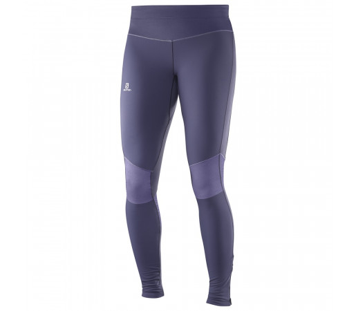 Pantaloni Salomon Elevate Warm Tight W Gri