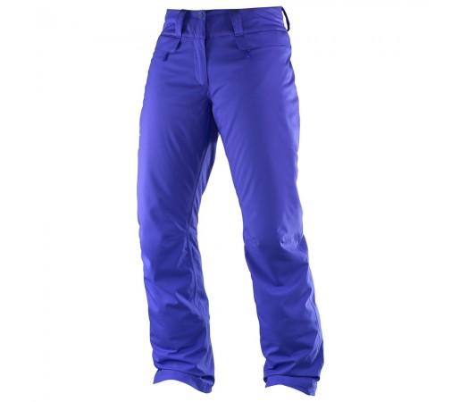 Pantaloni schi Salomon Enduro Pant W Albastri