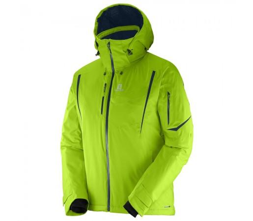 Geaca schi Salomon Enduro Jacket M Verde Deschis