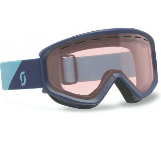 Ochelari schi si snowboard Scott Fact STD Albastru/Light Amp