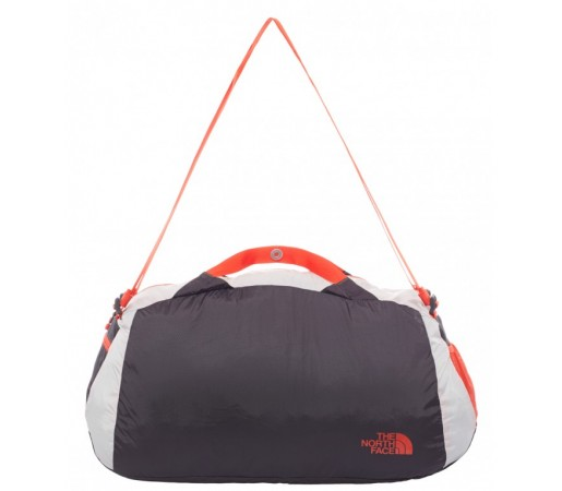 Geanta The North Face Flyweight Gri/Rosie