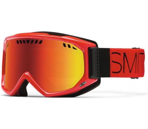 Ochelari Schi si Snowboard Smith SCOPE PRO Fire Block / Red Sol-X mirror