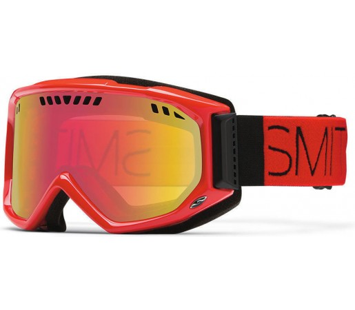 Ochelari Schi si Snowboard Smith SCOPE PRO Fire Block / Red Sensor mirror