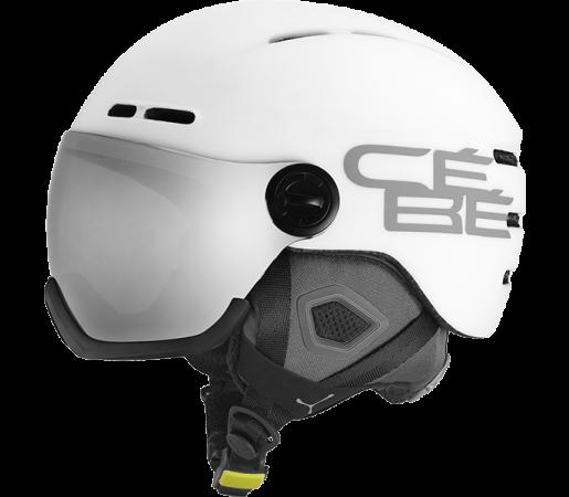 Casca Schi si Snowboard Cebe Fireball Visor Alba