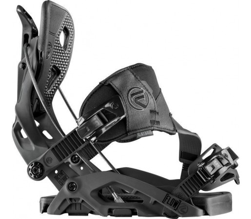 Legaturi Snowboard Flow Fuse Hybrid Black