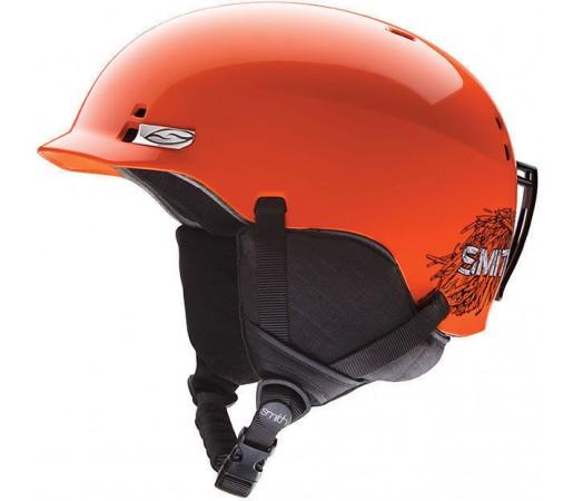 Casca Schi si Snowboard Smith Gage JR Neon Orange Stickfort