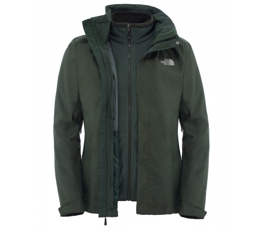 Geaca The North Face M Evolution Ii Triclimate Verde