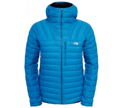 Geaca The North Face M Morph Down Hoodie Albastra
