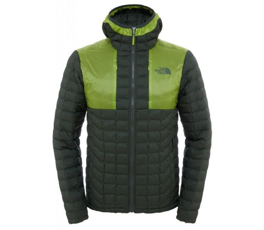 Geaca The North Face M Thermoball Plus Hoodie Verde