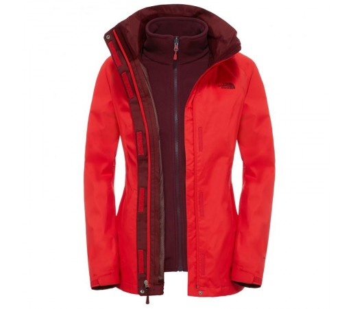 Geaca The North Face W Evolve Ii Triclimate Rosie