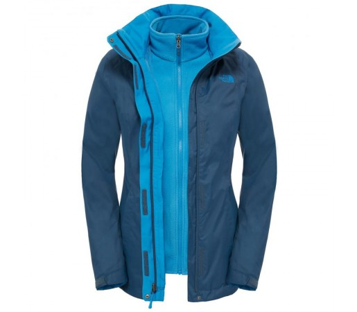 Geaca The North Face W Evolve Ii Triclimate Albastra