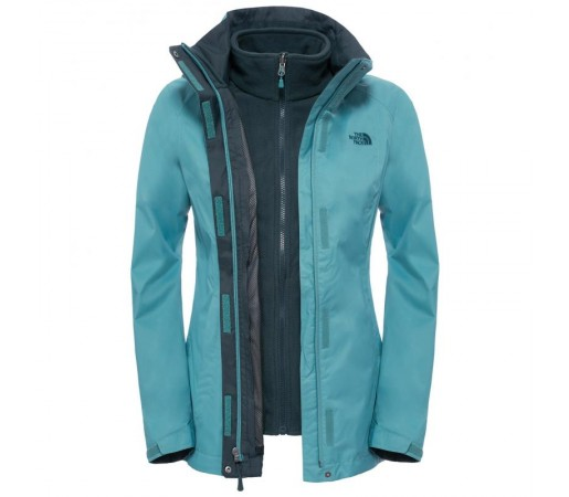 Geaca The North Face W Evolve Ii Triclimate Verde