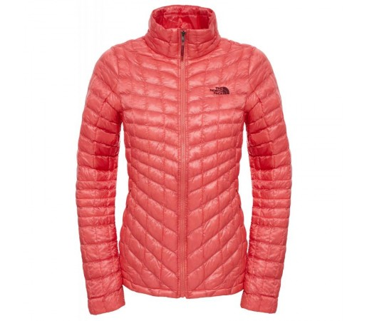 Geaca The North Face W Thermoball Full Zip Portocalie