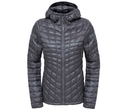 Geaca The North Face W Thermoball Hoodie Gri