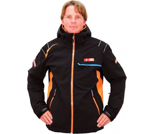 Geaca Blizzard RacePromo Black/Orange