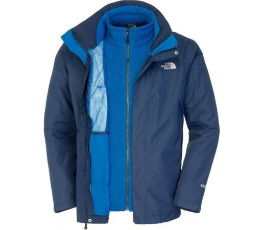 Geaca The North Face M All Terrain II Triclimate Blue