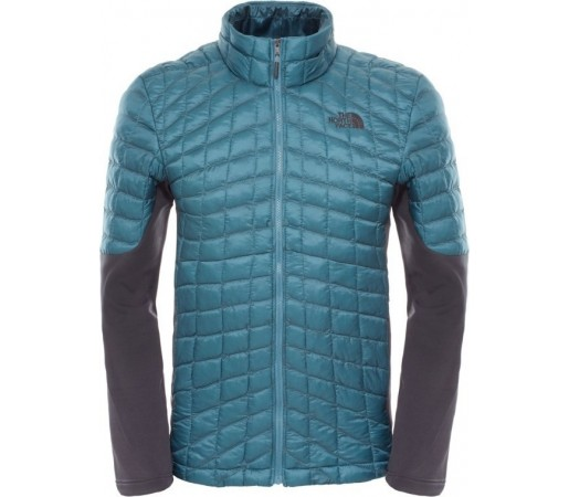 Geaca The North Face M Momentum Thermoball Hybrid Verde/Gri