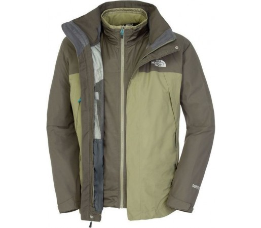 Geaca The North Face Primavera II Triclimate Olive Green