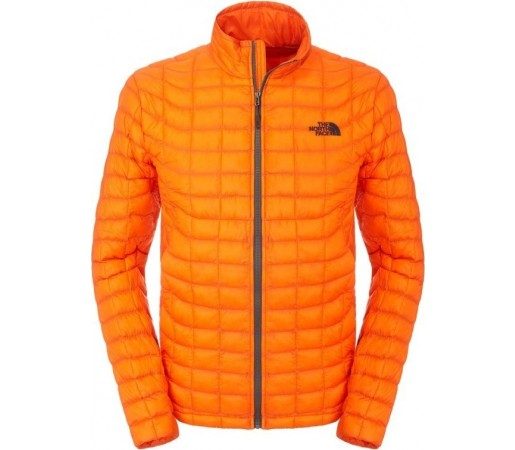Geaca The North Face M Thermoball Full Zip Portocaliu