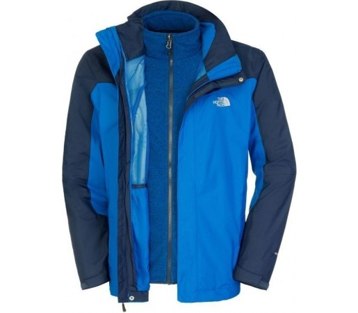 Geaca The North Face M Zephyr Triclimate Blue