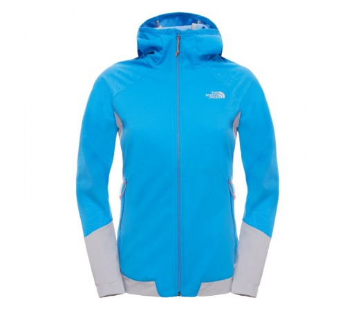 Geaca The North Face W Aterpea Full Zip Hoodie Albastra