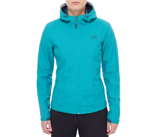 Geaca The North Face W Fuseform Dot Matrix Hooded Down Verde