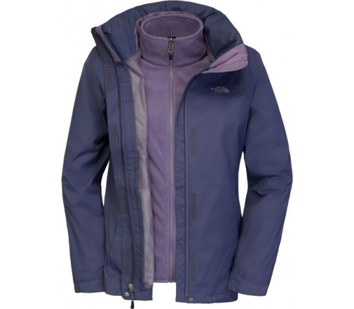 Geaca The North Face W Evolve II Triclimate Blue/Purple