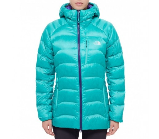 Geaca The North Face W Hooded Elysium Verde