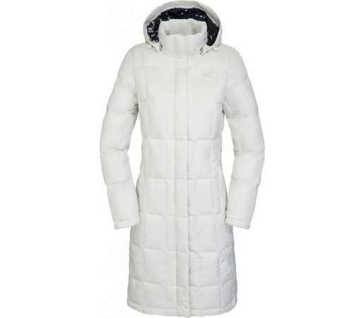 Geaca The North Face W Metropolis Parka White
