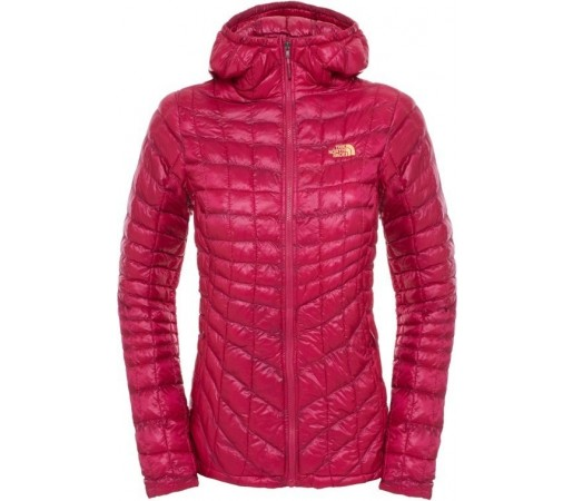 Geaca The North Face Thermoball Hoodie Mov/Portocaliu