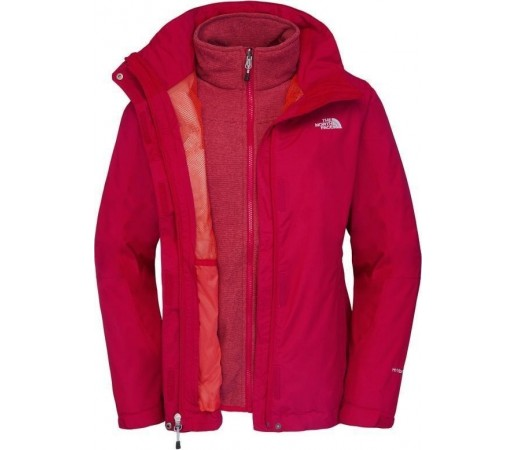 Geaca The North Face W Zephyr Triclimate Pink