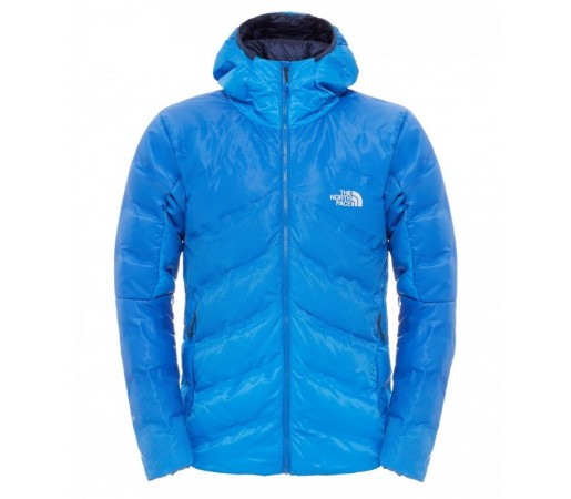 Geaca The North Face M Fuseform Dot Matrix Hooded Down Albastra
