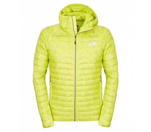 Geaca The North Face M Quince Pro Hooded Verde Deschis