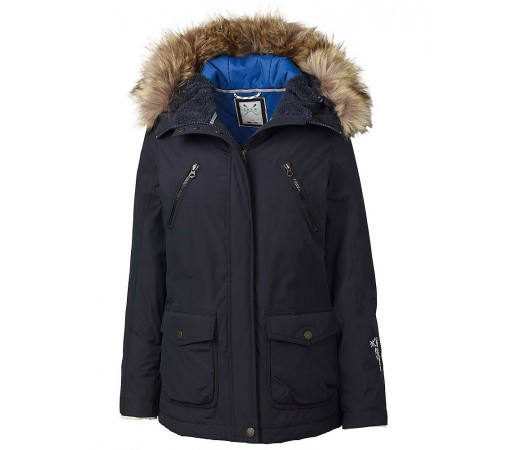 Geaca Crew Clothing GBR Spray Jacket Albastru Inchis
