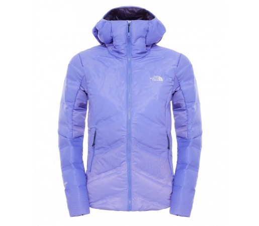 Geaca The North Face W Fuseform Dot Matrix Hooded Down Mov