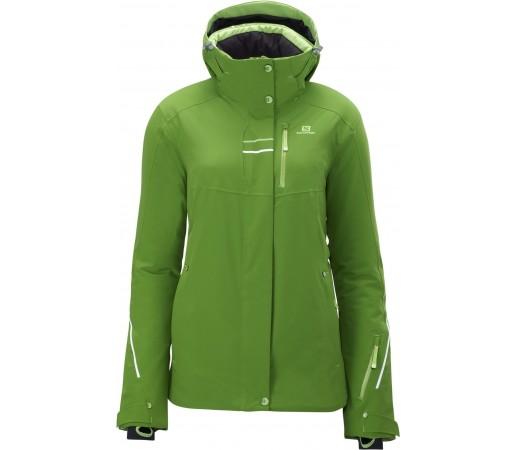 Geaca Ski Brillant W Amphib Green