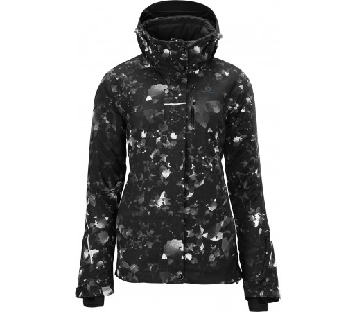 Geaca Ski Salomon Brillant W Black White