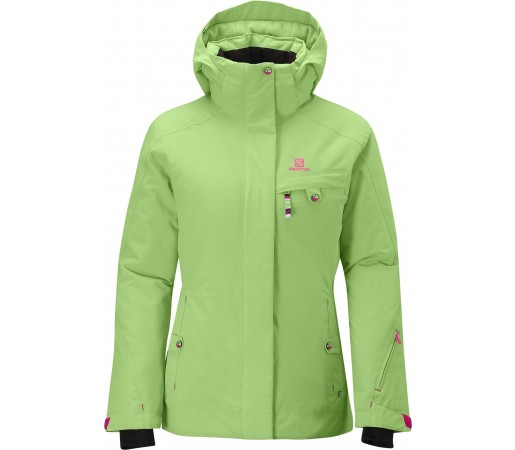 Geaca Ski  Salomon Exposure Light Park Green