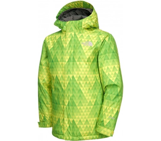 Geaca Ski si Snowboard The North Face Insulated Open Gate Green- Yellow