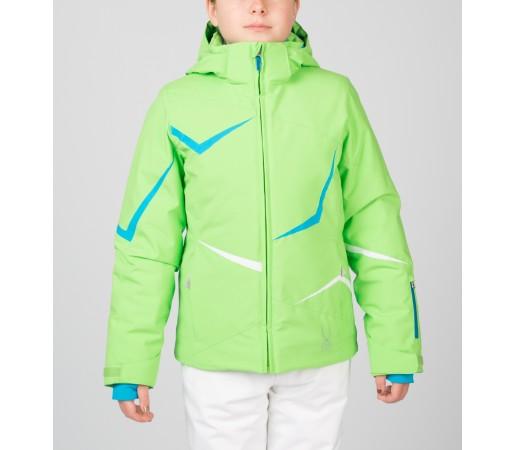 Geaca Schi si Snowboard Spyder Girls Tresh Verde/Albastru/Alb