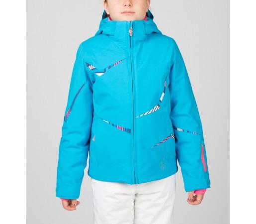 Geaca Schi si Snowboard Spyder Girls Tresh Albastru/Roz/Mov