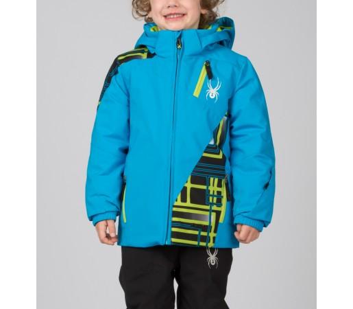 Geaca Schi si Snowboard Spyder Mini Enforcer Albastru/Verde